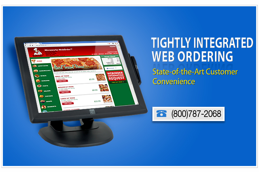 tightly integrated web ordering with state of the art customer convenience