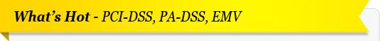 PCI-DSS, PA-DSS, EMV